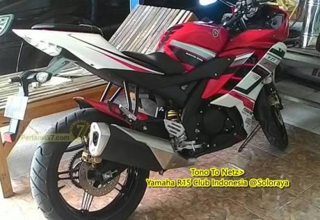 yamaha YZF-R15 knalpot Ninja 250 FI