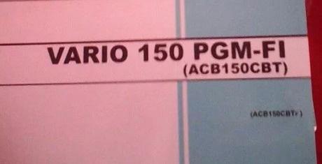 buku pedoman pemilik honda vario 150