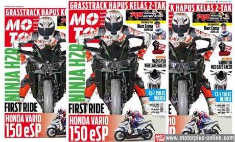 Cover-motorplus edisi 830 honda CS1 Injeksi