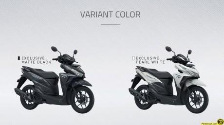 dua pilihan warna honda vario 150