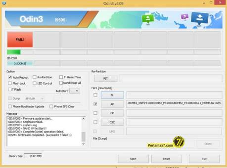 gagal flash samsung galaxy tab 2 pertamax7.com via odin
