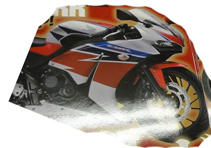 honda CBR250RR young machine front