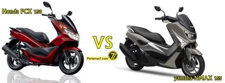 honda pcx 150 vs yamaha nmax 155 terbaru