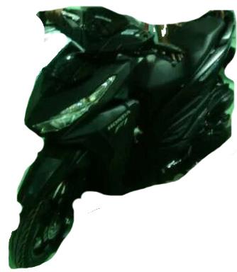 honda Vario 150 black
