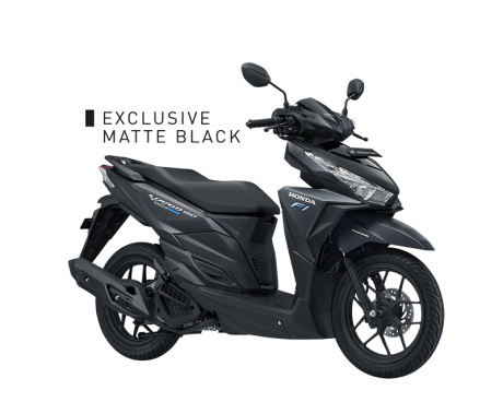 Honda Vario 150 varian-exclusive-matte-black