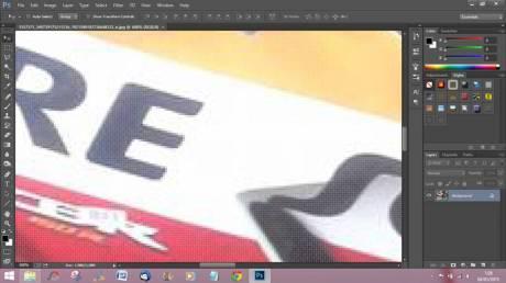 Huruf P Honda CBR150R Repsol hilang karena olah photosop