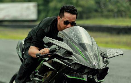 kawasaki ninja H2R indonesia singo edan