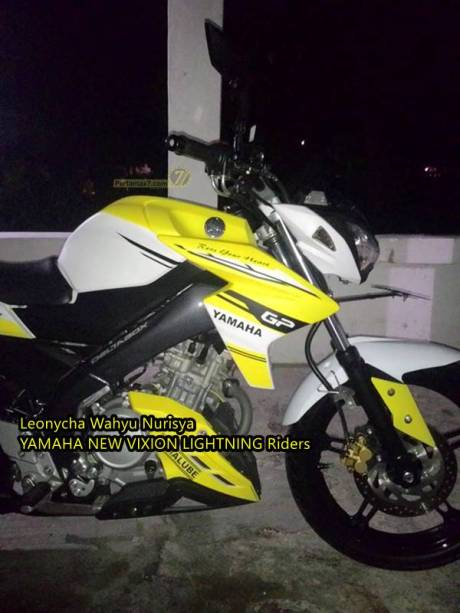 Modifikasi Yamaha New Vixion Pakai headlamp kawasaki Z250 replika Madiun 10