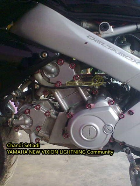 Modifikasi Yamaha Vixion 2 Silinder ala Ninja 250FI pertamax7.com 3