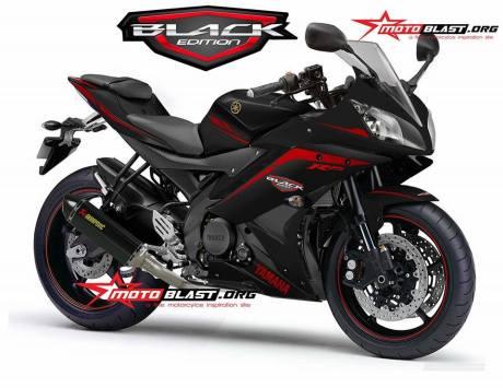 Modifkasi Yamaha R15 hitam ala motoblast 10897761_575222509279647_4467226592354754608_n
