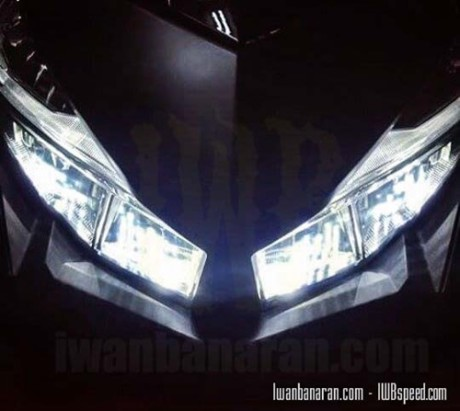 Nyala lampu honda Vario 150 LED