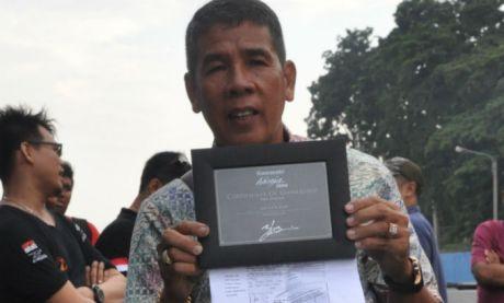 pembeli pertama kawasaki ninja H2 di Indonesia  juragan emas
