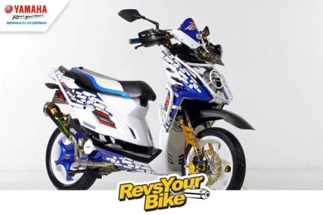 Pemenang Favorit Revs Your Bike - Dynamic and Sporty X-Ride
