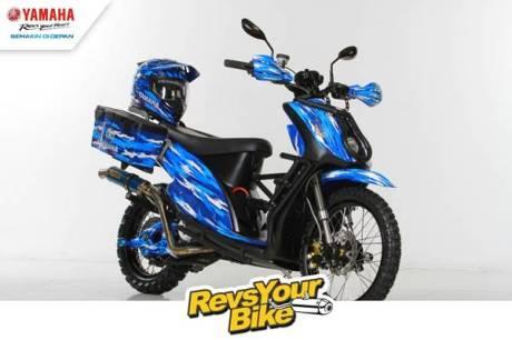 Pemenang Kedua Revs Your Bike - Matic Mio Adventure