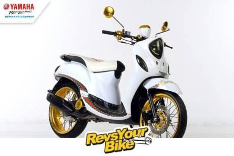 Pemenang Ketiga Revs Your Bike - Fino Matic Fighter