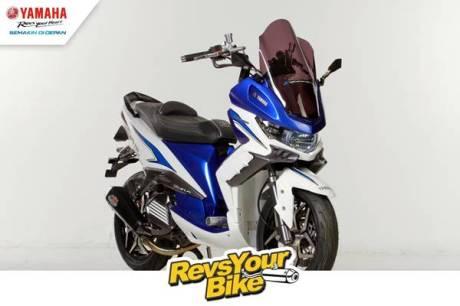 Pemenang Pertama Revs Your Bike - My Xeon is Real Baby T-Max