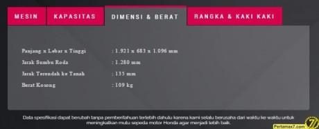 spesifikasi honda vario 150 b