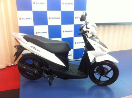 Suzuki Addres 110 Fi  Japan