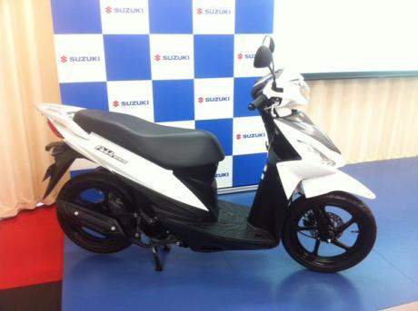 Suzuki Addres 110 Fi Japan