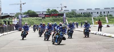 Suzuki Indonesia Challenge 2015 Satria Cup Medan, Pebalap Aceh Jawara 1
