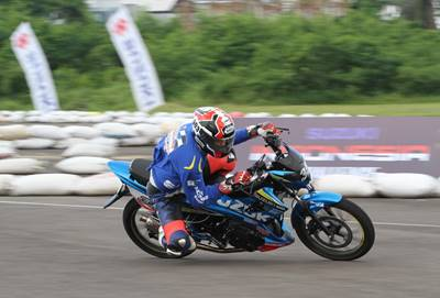 Suzuki Indonesia Challenge 2015 Satria Cup Medan, Pebalap Aceh Jawara 3