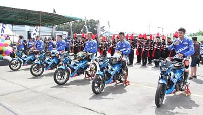 Suzuki Indonesia Challenge 2015 Satria Cup Medan, Pebalap Aceh Jawara 4