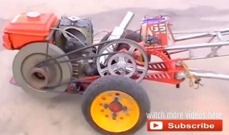 traktor drag thailand