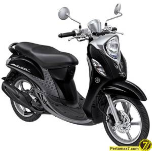 Yamaha Fino Premium BlackSilver