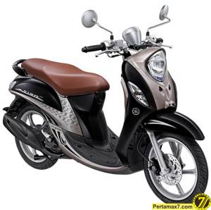 Yamaha Fino Premium ElegantGold