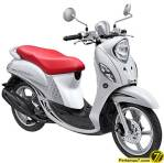 Yamaha Fino Premium Fashion White