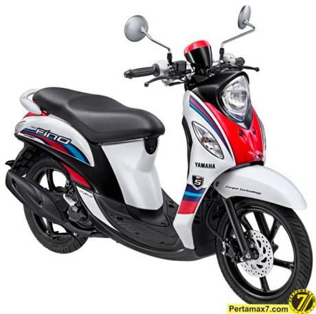Yamaha Fino Sport Neo White