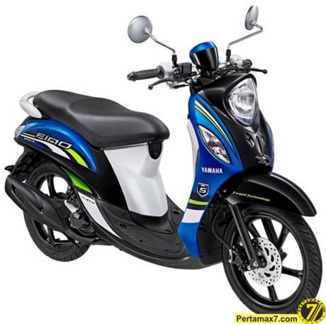 Yamaha Fino Sport Sporty Blue