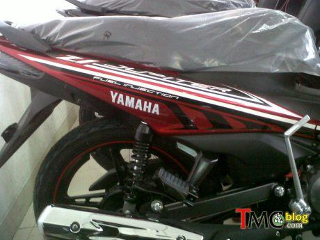 yamaha jupiter Z1 facelift 2015 speedometer body side