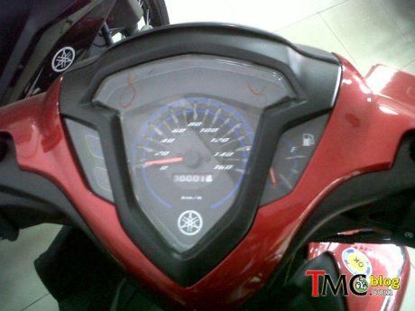yamaha jupiter Z1 facelift 2015 speedometer