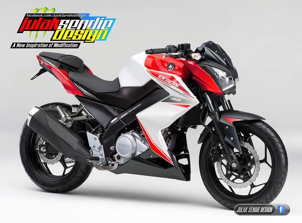 Yamaha Vixion Ala Kawasaki Z250 Racikan Julak Sendie Ini