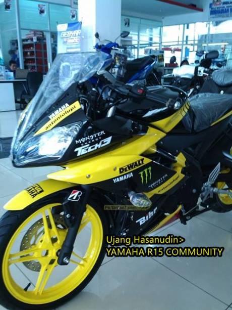 Yamaha R25 livery Tech3 motogp 2