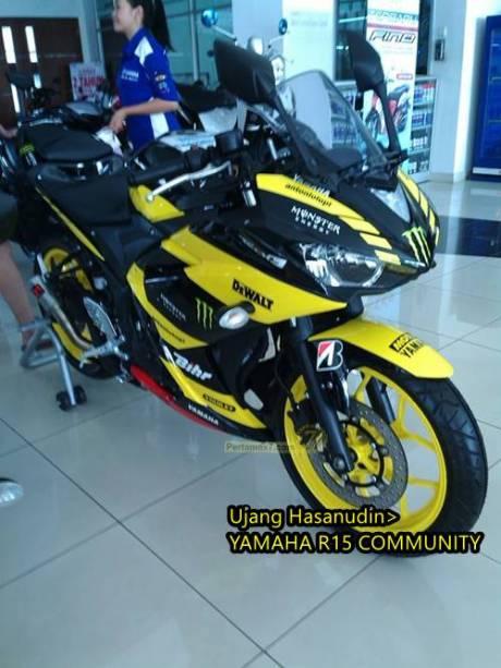 Yamaha R25 livery Tech3 motogp 6