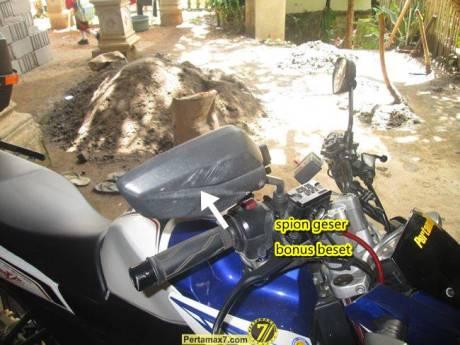 Yamaha Vixion setelah ambruk 2