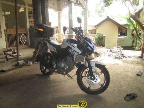 Yamaha Vixion setelah ambruk 3