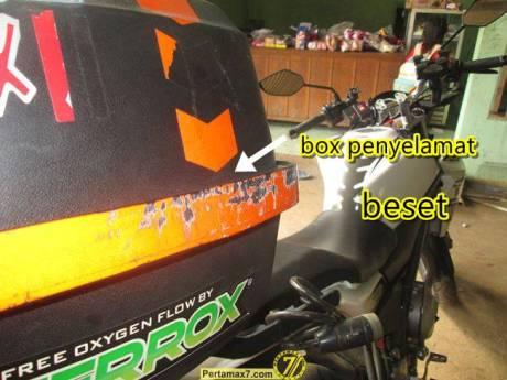 Yamaha Vixion setelah ambruk 9