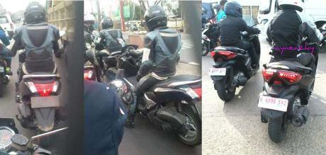 YIMM uji yamaha nmax dan X-max di jalanan Indonesia