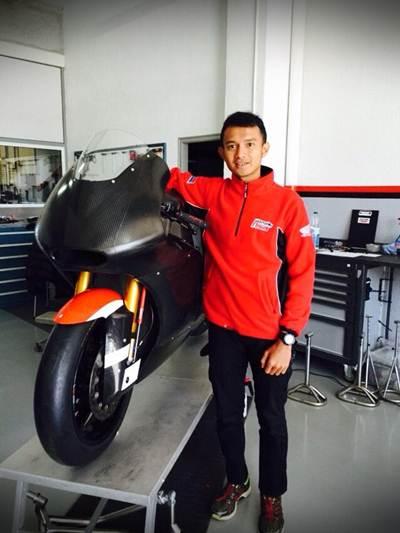 AHM Kirim Dimas Ekky  ke CEV Spanish Championship  005 Pertamax7.com