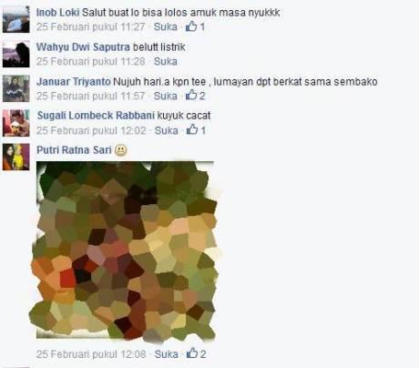 Akun Facebook Begal tangerang yang di bakar masa 003