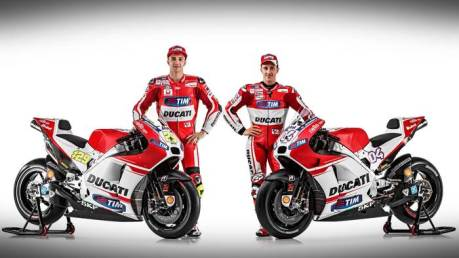 Ducati Launching New GP15 Desmosedici 001 Pertamax7.com