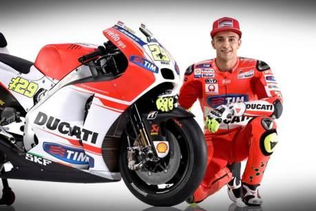 Ducati Launching New GP15 Desmosedici 004 Pertamax7.com
