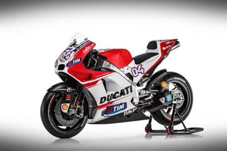 Ducati Launching New GP15 Desmosedici 005 Pertamax7.com