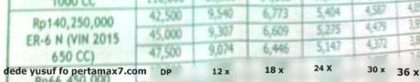 harga kawasaki er-6n 2015 naik pertamax7.com