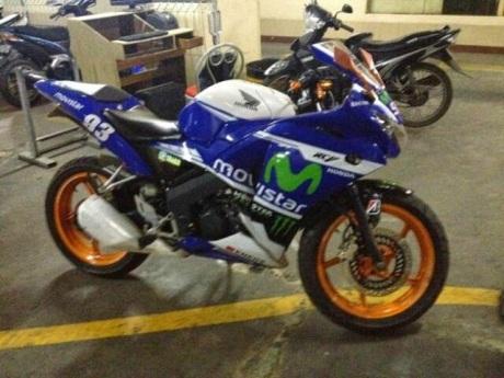 Honda CBR150R Livery Movistar Yamaha Motogp 001 pertamax7.com