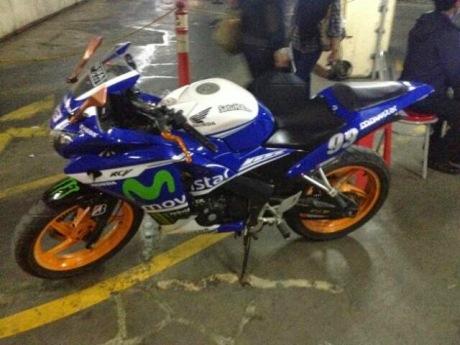Honda CBR150R Livery Movistar Yamaha Motogp 002 pertamax7.com