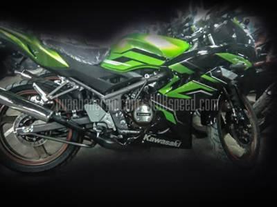 Kawasaki Ninja 150 striping terbaru 2015 002 Pertamax7.com
